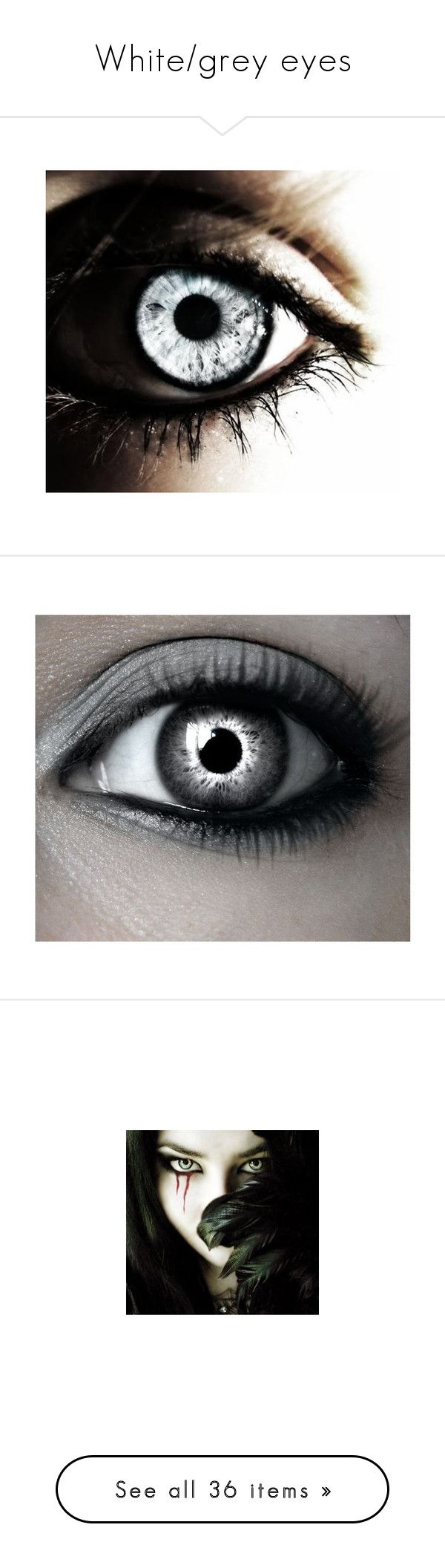 Best 25 grey contacts ideas on pinterest contact lenses tips whitegrey eyes by thedeathlyhallowsalways liked on polyvore featuring eyes makeup nvjuhfo Choice Image