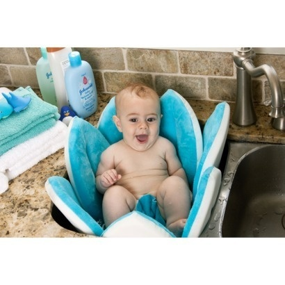 so cute blooming baby bath tub is 40 from target newborn baby checklist pinterest bath. Black Bedroom Furniture Sets. Home Design Ideas