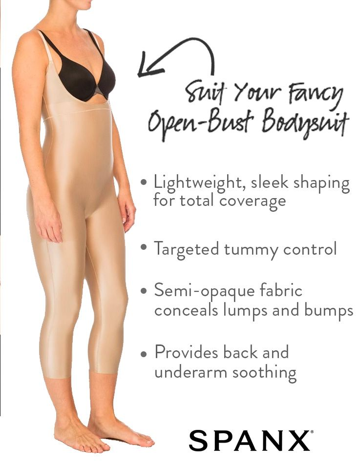 10d8d80afab12 Suit Your Fancy | Open-Bust Bodysuit by SPANX | Styled in SPANX in ...