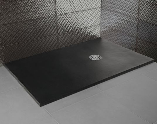 Textura recordando a la piedra natural confiere personalidad al plato de ducha Nature de HIDROBOX - The smooth texture, so similar to that of natural stone, alongside the range of colours available brings a great deal of personality to the Nature shower tray.