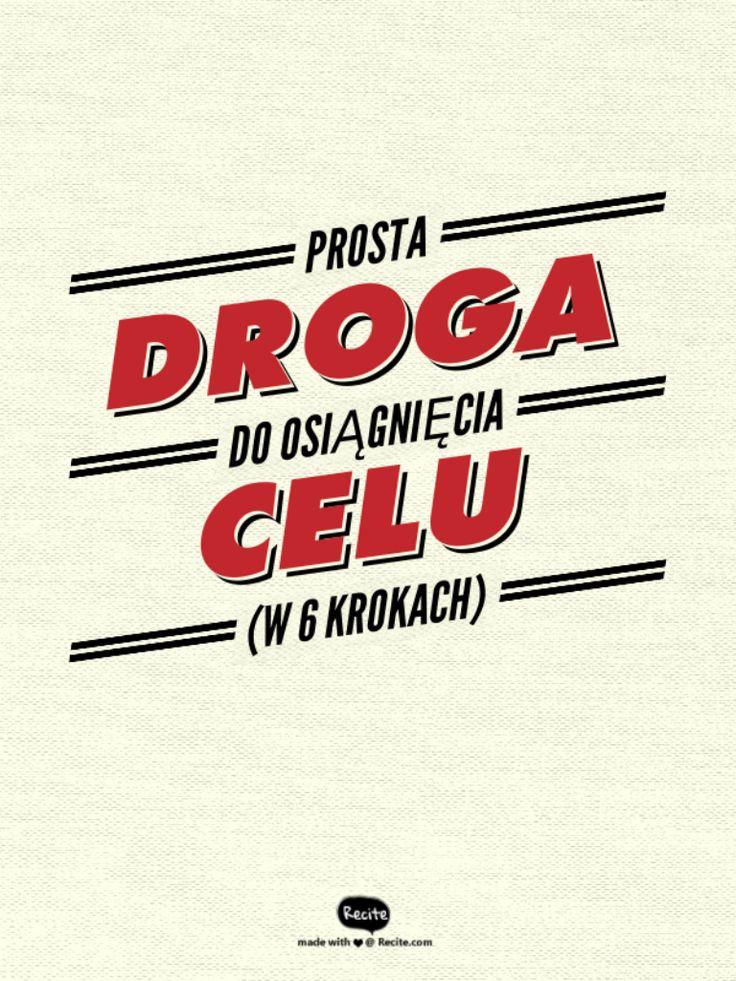 #marzenia , #myśliżyciowe, #cel , PROSTA DROGA DO OSIĄGNIĘCIA CELU (W 6 KROKACH) http://zzyciaannyt.blogspot.com/2015/04/prosta-droga-do-osiagniecia-celu-w-6.html