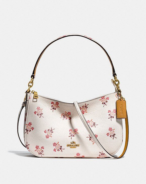 Chelsea Crossbody With Floral Bow Print In 2020 Minimalist Bag