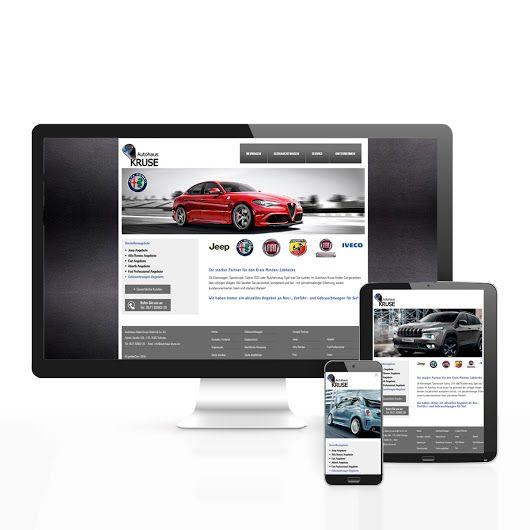 Website für das Autohaus Kruse  #website #autohaus #inspiration #gestaltung