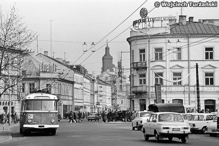 Skoda 9Tr #583  Skoda przy Europie. Trolejbus na Krakowskim