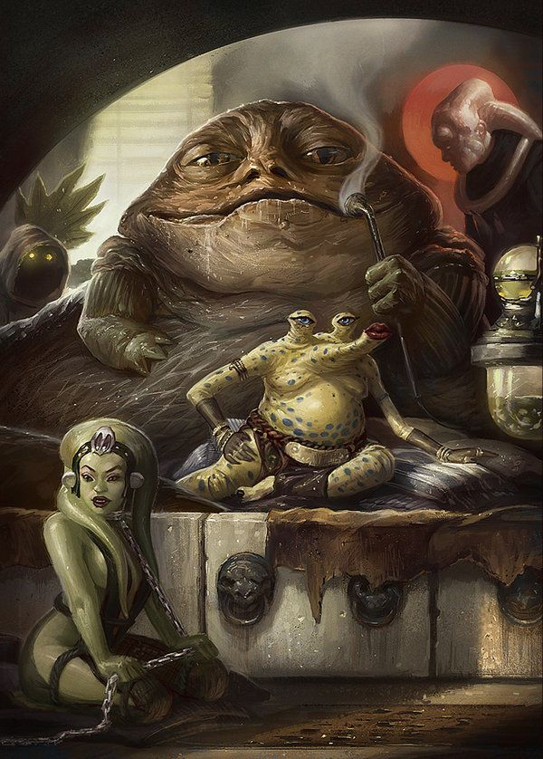 Jabba the Hutt  #Sithterest www.pinterest.com/churchofsithism #ChurchOfSithism #Pinterest