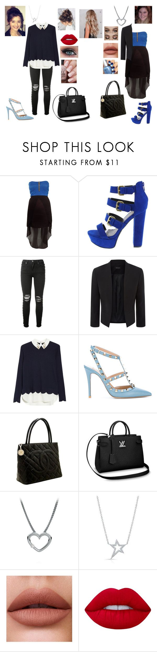"""""""Running errands : business"""" by y0-anna ❤ liked on Polyvore featuring Rare London, Calder, AMIRI, Ted Baker, Valentino, Chanel and Lime Crime"""