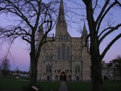 Salisbury Cathedral, England. very old.