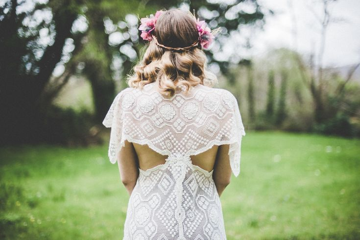 Boho Bride, Alice Halliday bridalwear & styling, Rosa O hair & makeup, Kate Bean Photography, Wildflower Weddings
