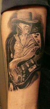 243 best tetov l s tattoo images on pinterest tattoo for Stevie ray vaughan tattoo