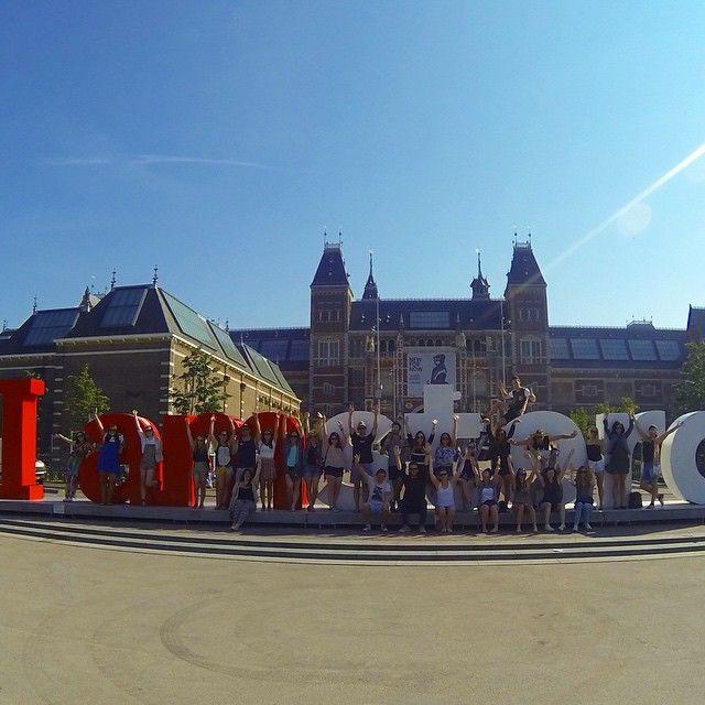 Amsterdam was the last stop on my Contiki tour (European Escapade)