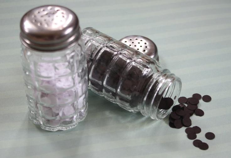 That Morris Family: DIY Pretend Salt & Pepper