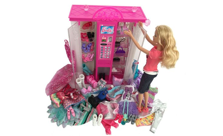 Barbie vending machine