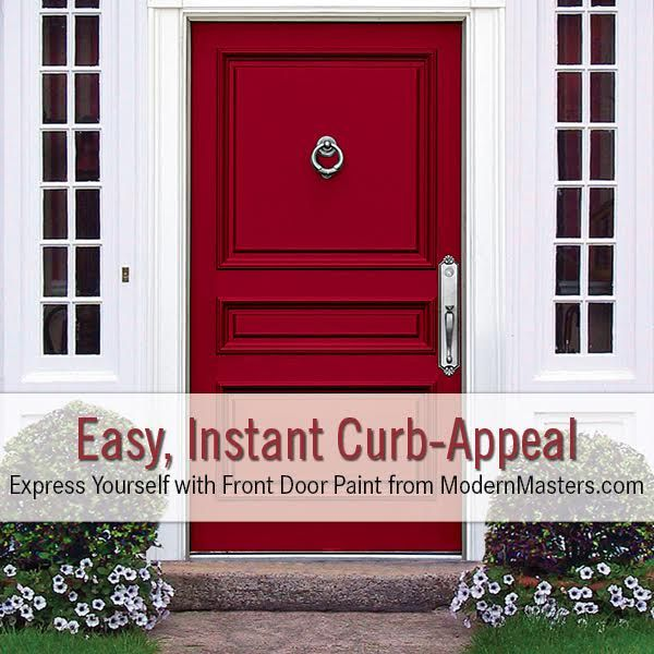 Five questions with front door paint on the modern masters Curb appeal doors