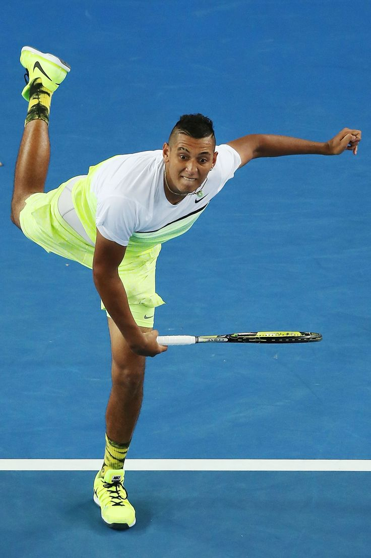 Nick Kyrgios (Australia) Fashion at the Australian Open