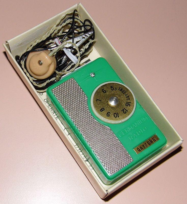 https://flic.kr/p/prQGbj | Vintage Gaytone Germanium Crystal Pocket Radio, Model ER-22, Made In Japan