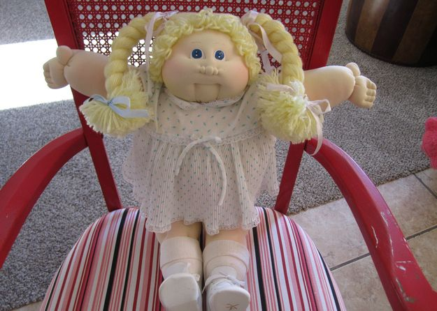 Original Cabbage Patch doll, $639.99 | 28 Toys From Your Childhood That Are Now Worth Bank