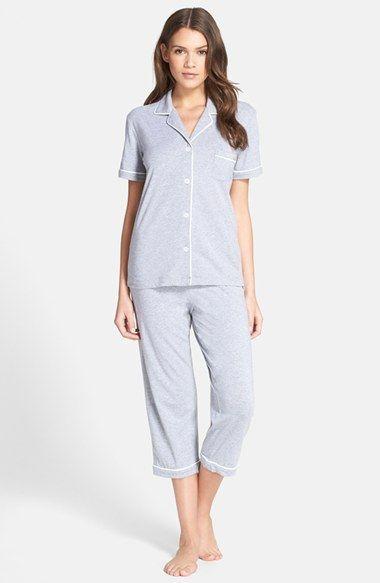 DKNY Jersey Capris Pajamas | Nordstrom