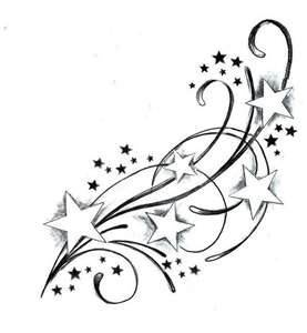 Star Tattoo | Star Tattoo Design, Star Tattoos Star Tattoo Flash -