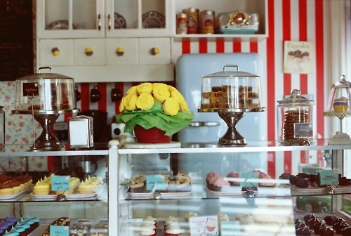 Sonja's awesome cupcake store!