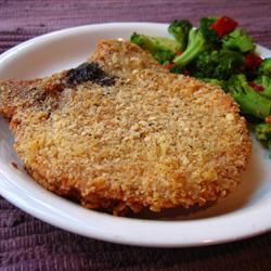 Famous Pork Chops Recipe – My family loves these and they fall apart when you cu