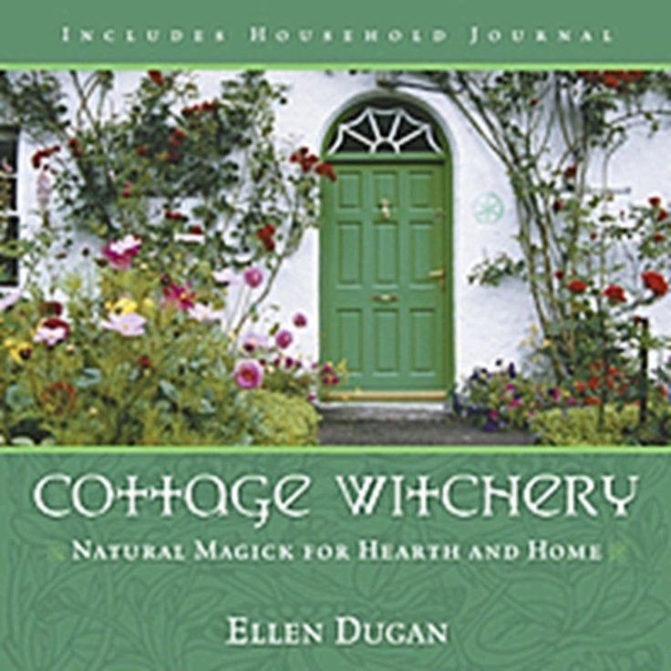 Book COTTAGE WITCHERY Natural Magick for Hearth & Home Ellen Dugan Wicca Witch