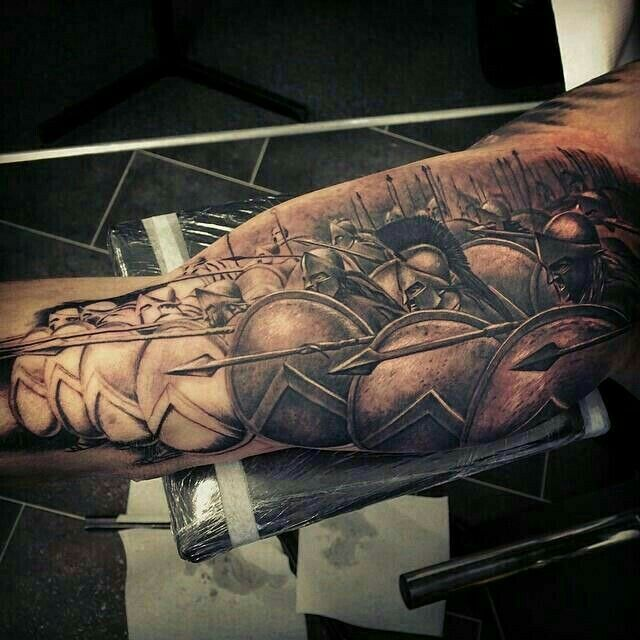 Greek Spartans Tattoo                                                                                                                                                                                 Más