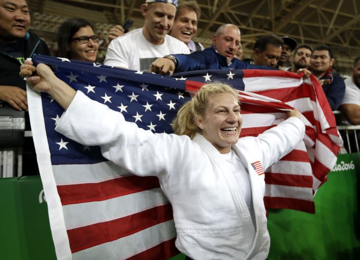 Kayla Harrison: Victim, survivor — and now two-time Olympic judo gold medalist