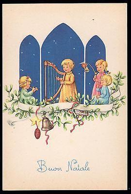 Pmce Cartolina Buon Natale Fg N Serie 783/3 - Bimbi Bimbo Bimba Agrifoglio