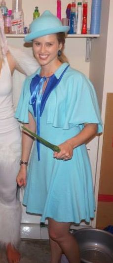Fleur Delacour Costume. Made by Nicole.