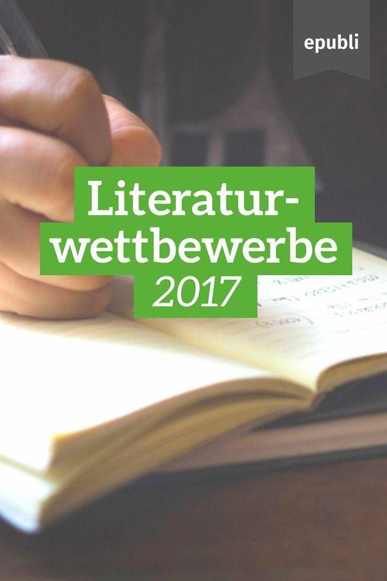 Stellt Euch neuen Herausforderungen und nehmt an Literatur- und Schreibwettbewerben teil: http://www.epubli.de/blog/literaturwettbewerbe #schreibwettbewerb #literaturwettbewerb #selfpublishing