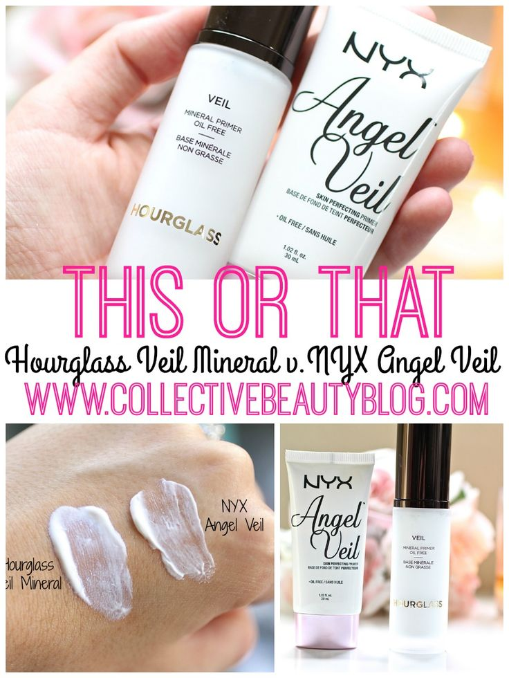 THIS OR THAT: Hourglass Veil Mineral v. NYX Angel Veil Seriously it really is soooo similar! Awesome dupe!