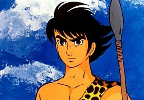 """Ryu ragazzo delle caverne Lo vedevo circa """"un milione d anni fa o forse due!"""