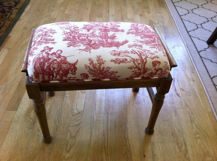 This Newly Reupholstered Bench Footrest Will Add Charm To Any Room