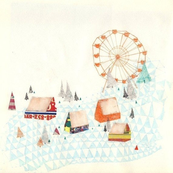 whimsy drawings - carnival by charmaine olivia