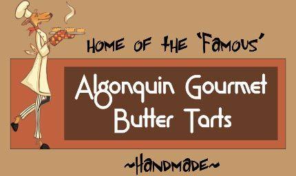 Algonquin Gourmet Butter Tarts