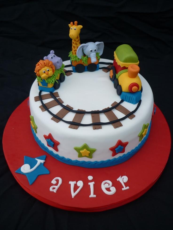 17 mejores im genes sobre cakes bb en pinterest pastel - Bizcocho de cumpleanos para ninos ...