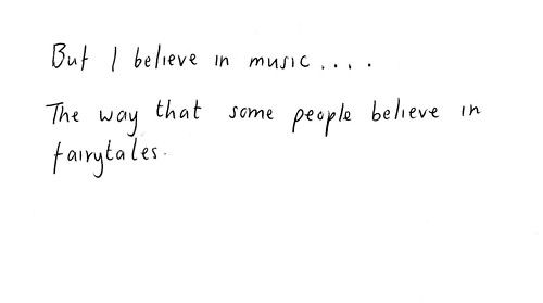 Love this for a tattoo...music has gotten me thru my entire life, thru good times, and bad...