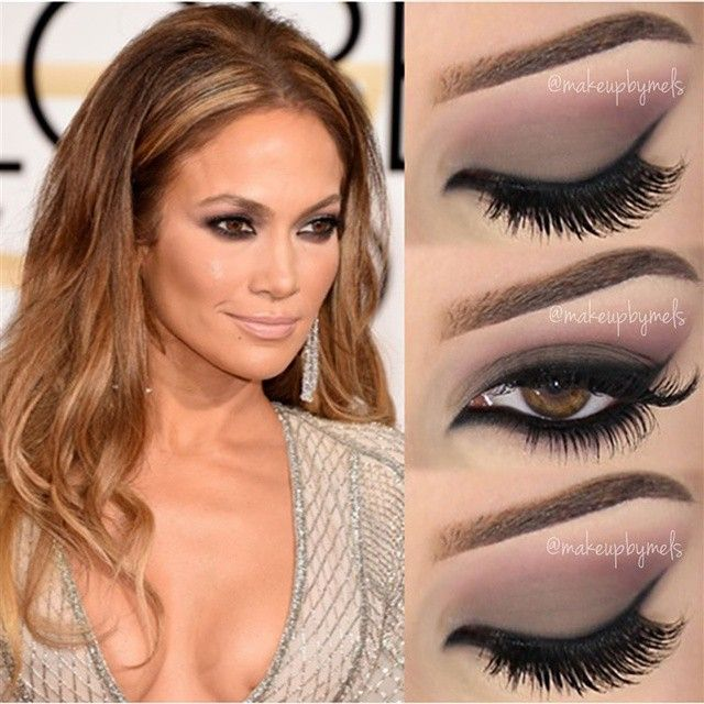 Jennifer Lopez ✨@jlo✨ Golden Globes 2015 Makeup Look  Full TUTORIAL  Link in my Bio... | Use Instagram online! Websta is the Best Instagram Web Viewer!