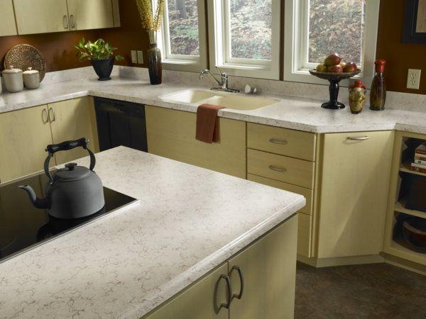 Zodiaq® Coarse Marfil Kitchen