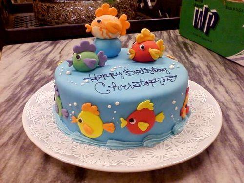 Cute Fish Birthday Cake Ideas