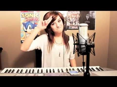 "Christina Grimmie - Singing ""In Christ Alone""  I love her voice and this is my favorite song ever. Good cover but I like Owl City's version better....her ""My Heart Will Go On"" is grand!"