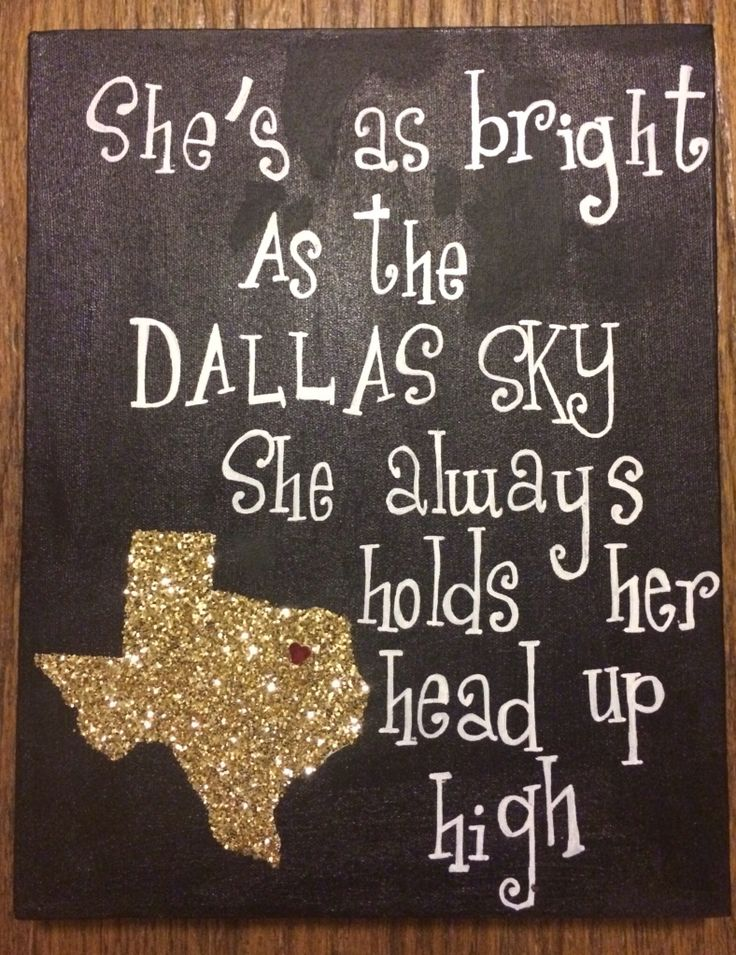 Josh Abbott Band-She's Like Texas -- allie made me a texas like this! now i need those words in the same frame.