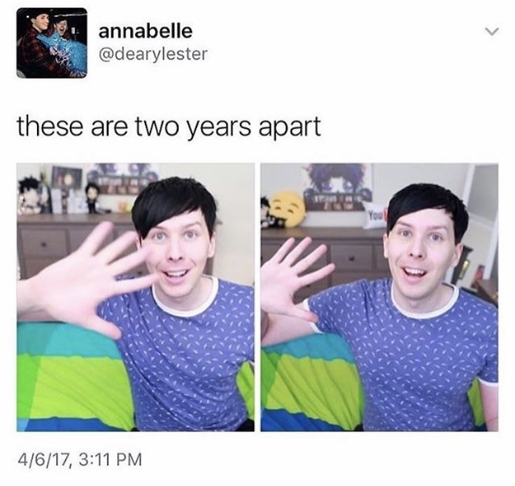 TWO YEARS APART THEY CANT BE WHAT THE FUCK THEY LOOK SO SIMULAT HE HASNT CHANGED AT ALL THIS IS WITCHCRAFT