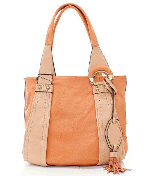 Peach on Sorbet Jenna Hobo on Emma Stine Limited