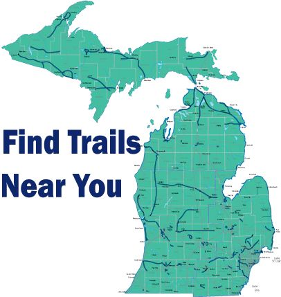 Rails to Trails...Michigan is second in the country with over 2000 miles of trails!