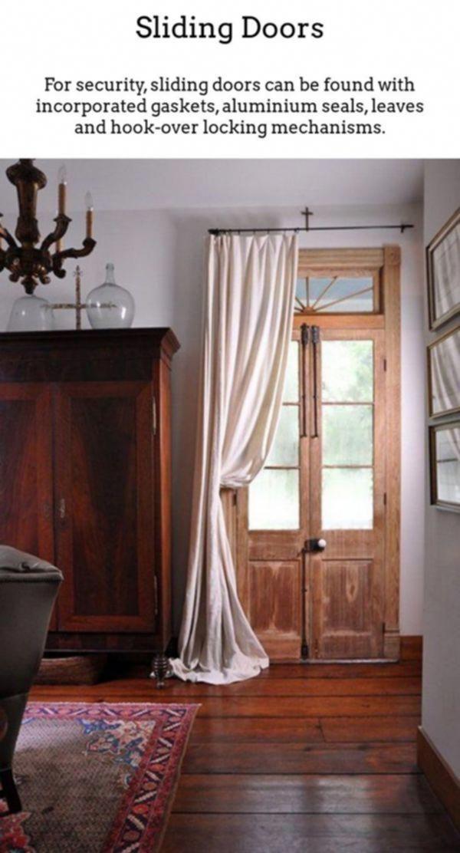 Barn Door Style Interior Doors Tall Sliding Wardrobe Short Closet 20181104