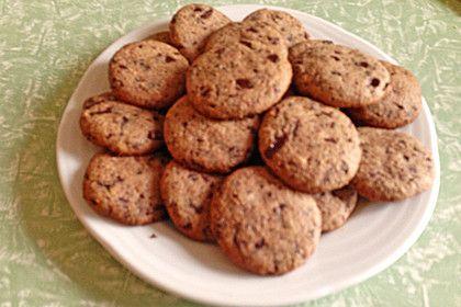 Dinkel-Schoko Cookies