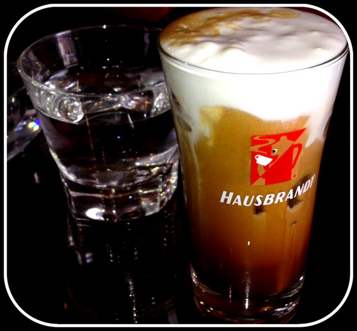La Caffetteria freddo cappuccino hausbrandt