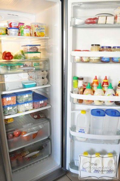 Organised fridge: Ideas, Organization, Fridge Organized, Organized Housewife, Articles, Cleaning, Organised Housewife, Tips