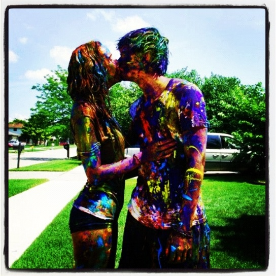 Who wants this? : Idea, Paint Fight, Summer, Fun, Things, The, Bucket Lists, Paintfight